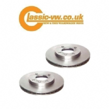 Front Brake Disc Set Vented 256mm (Pries) 321615301D Mk1 / 2 / 3 Golf, Caddy, Jetta, Scirocco